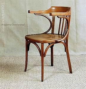Chaise De Bureau En Bois : chaise de bureau baumann thonet clasf ~ Mglfilm.com Idées de Décoration
