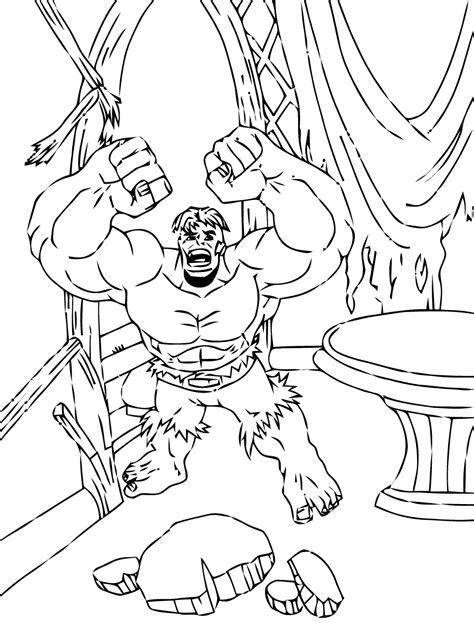 hulk     hulk kids coloring pages