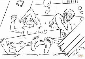 Earthquake Coloring Pages
