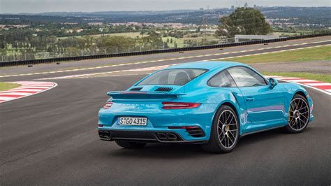 miami blue porsche turbo s porsche 911 turbo s 2016 review by car magazine