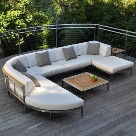 metal outdoor sectional great outdoor stainless steel furniture bistrodre porch