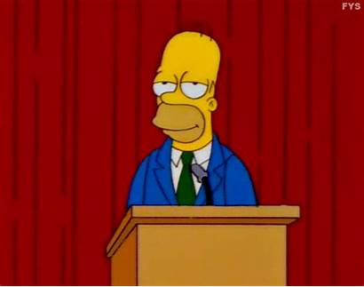Simpsons Homer Simpson Trash Titans Reaction Season