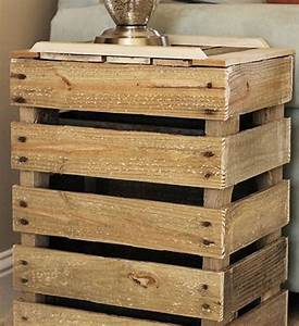 Casa Table De Chevet : 15 id es g niales pour avoir une table de chevet originale actualit s seloger ~ Teatrodelosmanantiales.com Idées de Décoration