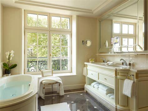 hotel bathroom decor why the shangri la is the best luxury hotel in paris