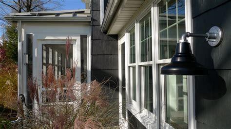 modern farmhouse exterior lighting classic outdoor gooseneck lighting for a modern ny