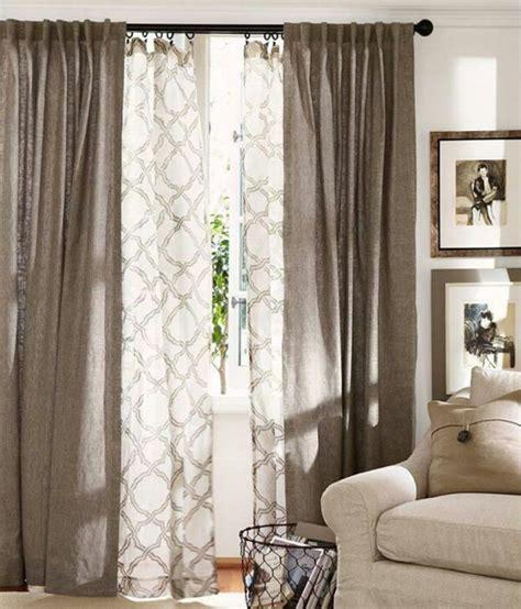 idee voilage pour grande fenetre rideaux pour fen 234 tre id 233 es cr 233 atives pour votre maison