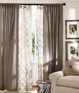 Idée Rideau Salon : rideaux pour fen tre id es cr atives pour votre maison ~ Preciouscoupons.com Idées de Décoration