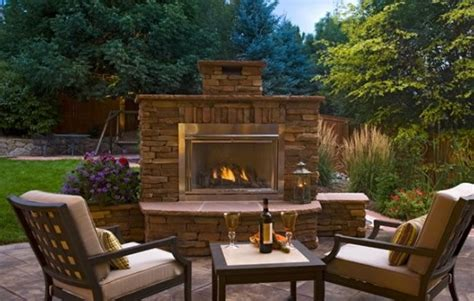 outdoor fireplace parker  photo gallery