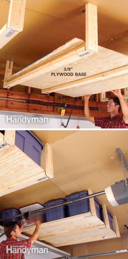 Ceiling Garage Storage Ideas by 10 Diy Suspended Shelving 28 Brilliant Garage