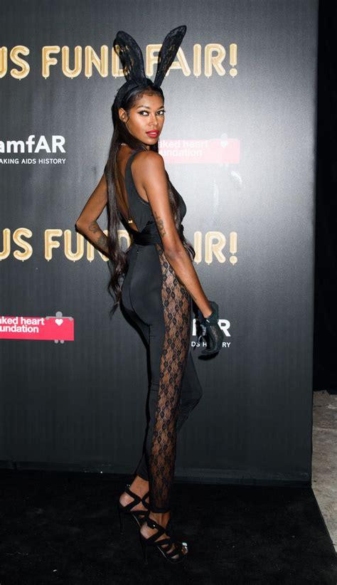 jessica white  amfar fabulous fund fair  nyc celebmafia