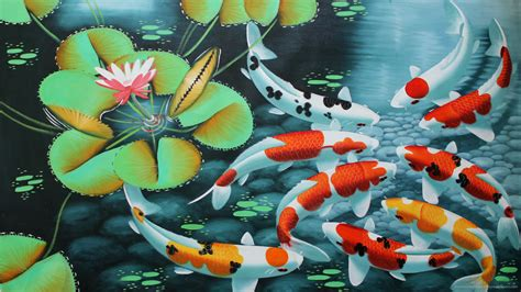Animated Koi Fish Wallpaper - koi fish wallpaper 59 images