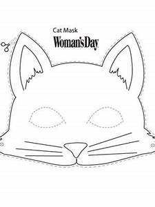 cat mask cat mask construction paper and masking With caterpillar mask template