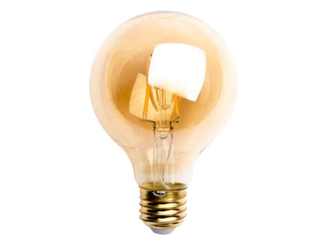 tcp dimmable 3 5 watt 2500k vintage filament g25 led bulb