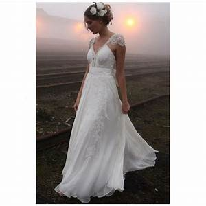 Delicate V Neck Lace Summer Wedding Dresses Sexy Backless ...