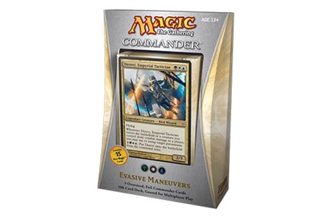 Mtg Evasive Maneuvers Deck by Commander 2013 Card Set Archive Products Info