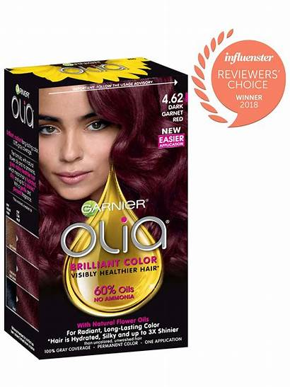 Olia Garnet Garnier Hair Dark Ammonia Permanent