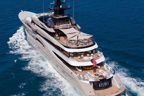 review lurssen yachts  kismet ii superyacht