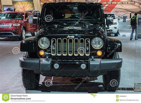 Jeep Wrangler Dragon Edition Car On Display At The La Auto