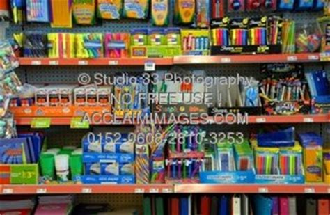 what stores sell colored contacts photo of school supplies in a store