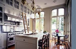 1000 images about library ladder in kitchen on pinterest With kitchen cabinets lowes with french cafe wall art