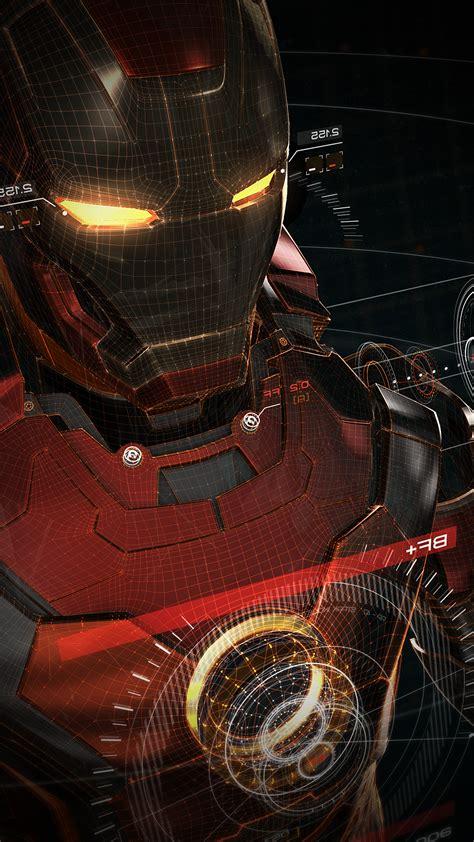 Ironman 3d Red Game Avengers Art Illustration Hero