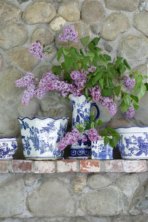 Blue & White Love  French Country Cottage