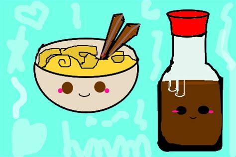 Comida Kawaii 1 **  Desenho De Lawliett Gartic