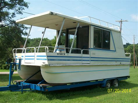 Ebay Boats For Sale Usa by Lil Hobo Houseboat For Sale Ebay Autos Post