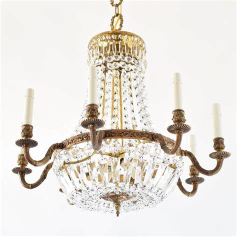empire style crystal chandelier  big chandelier