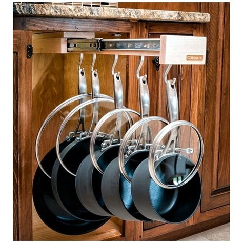 glideware pull out cabinet organizer for pots and pans glideware pull out cabinet organizer for pots and pans
