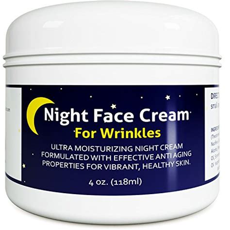 Anti Aging Night Cream Moisturizer for Dry Skin - Firming