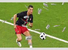 Cristiano Ronaldo makes over $108 million a year