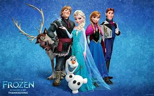 Movie Walls | Disney's new animation film Frozen official...