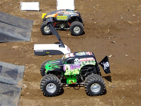 videos of monster trucks racing monster trucks hit the dirt rc truck stop