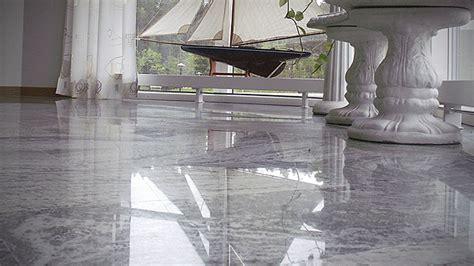 Marble floor   Grinding and polishing