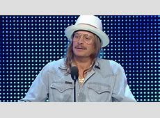 Kid Rock preaches unity during WWE Hall of Fame induction