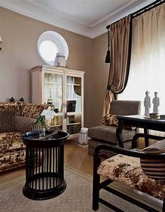 Traditional, Home, Decor, Style, For, Large, Apartment, Decorating, In, Moscow