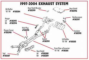 C5 And Z06 Corvette Headers  U0026 X-pipes