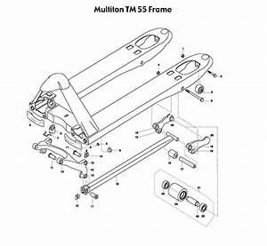 Pallet Jack Tm55 Parts Diagram  U2022 Downloaddescargar Com