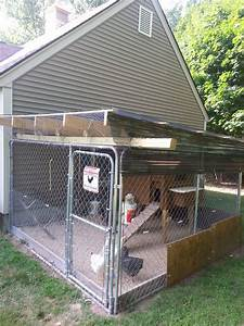 ideas for dog kennel pen roof to keep rain out needed With 12x12 dog kennel cover