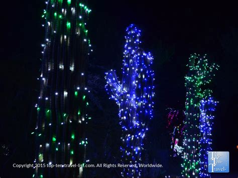 how much does zoo lights cost in phoenix attraction of the week phoenix zoo lights page 3 of 3