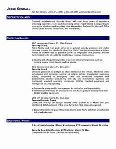 security guard resume example free resume templates With free sample resume for security guard