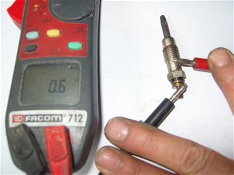 comment tester bougie de prechauffage bougie de pr 233 chauffage panne automobile