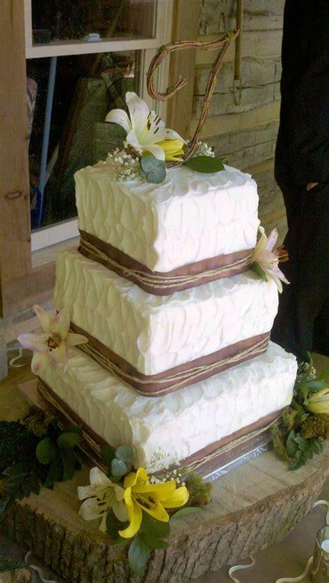 Best 25 Square Wedding Cakes Ideas On Pinterest