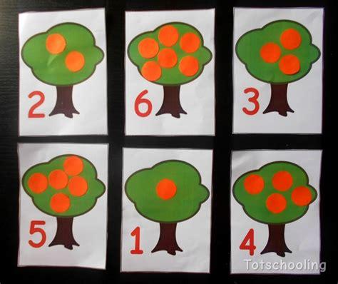 orange tree counting activity with free printable 383 | orangetree4