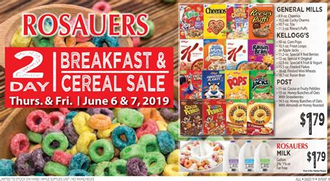Rosauers Current Weekly Ad 05/29
