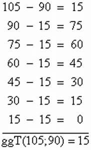 Kgv Berechnen Mit Primfaktorzerlegung : gr ter gemeinsamer teiler ggt vielfache und teiler teilbarkeit und zerlegung in primfaktoren ~ Themetempest.com Abrechnung