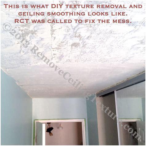 diy vs a professional contractor removeceilingtexture