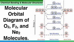Molecular Orbital Diagram Of O2  F2  And Ne2 Molecules