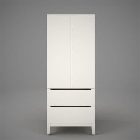 Ikea Nordli Kleiderschrank by Ikea Nordli Wardrobe 3d Model